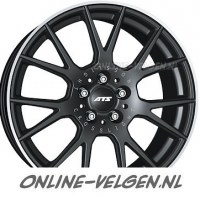 ATS Crosslight Matt Black velgen
