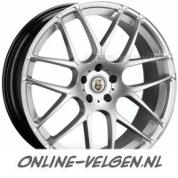 Cades Bern Accent zilver velgen