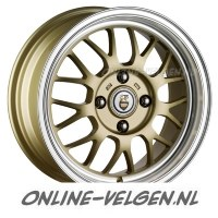 Cades Eros Light Gold velgen