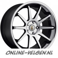 Cades Ixion Gunmetal Gepolijst velgen