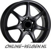 Inter Action Ice Black velg