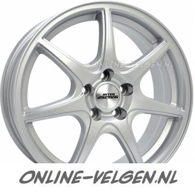 Inter Action Ice Zilver velg