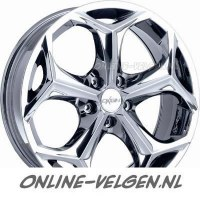 Oxigin crystal chrome velgen