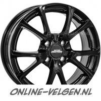 Inter Action Pulsar Glans Zwart velg