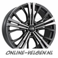 OZ Cortina Matt Black Diamond Cut velgen | Online-Velgen.nl
