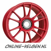OZ Ultraleggera HLT Central Lock Matt Red velgen