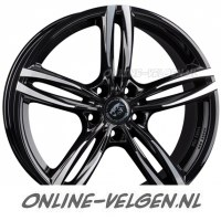 Damina DM03 Black Polished velgen velgen