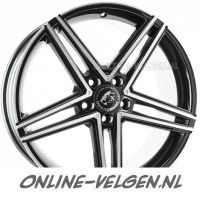 Damina DM04 Black Polished velgen velgen