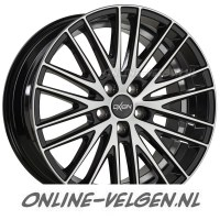 Oxigin 19 Oxspoke Black Full Polished velgen velgen