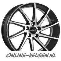 Oxigin 20 Attraction Black Full Polished velgen velgen