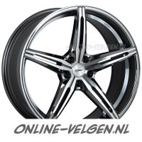Oxigin 23 Diamond Black Chrome Polished velgen velgen