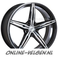Oxigin 23 Diamond Black Full Polished velgen velgen