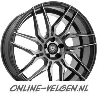 Art-Form AF-802 Gunmetal Polished velgen velgen