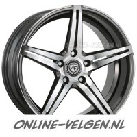 Art-Form AF-301 Gunmetal Polished velgen velgen