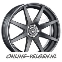 Art-Form AF-302 Flat Black Rim Polished velgen velgen