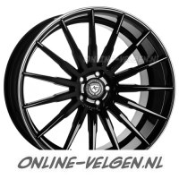 Art-Form AF-401 Black Rim Polished velgen velgen