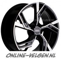 Fondmetal Atena Black Polished velgen velgen